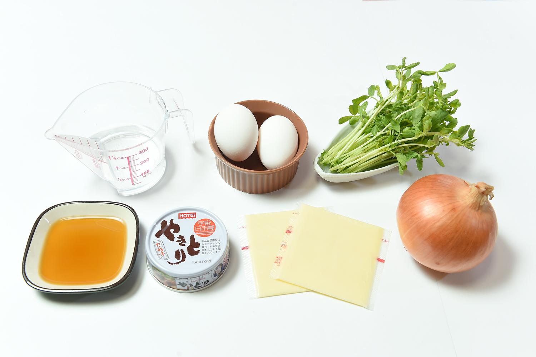藤本つかさが教える親子丼の材料