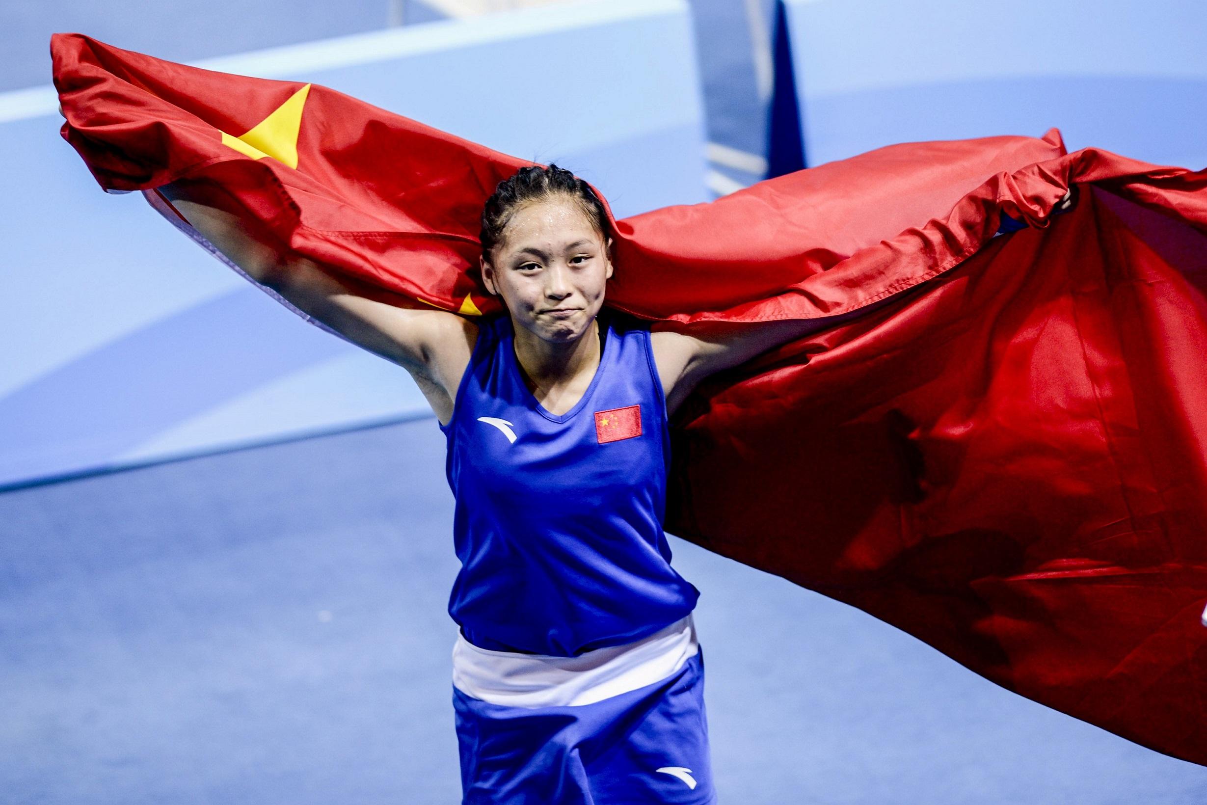 アジアのライバル、常園(チャン・ユアン)は少女時代から世界のトップとして戦ってきた