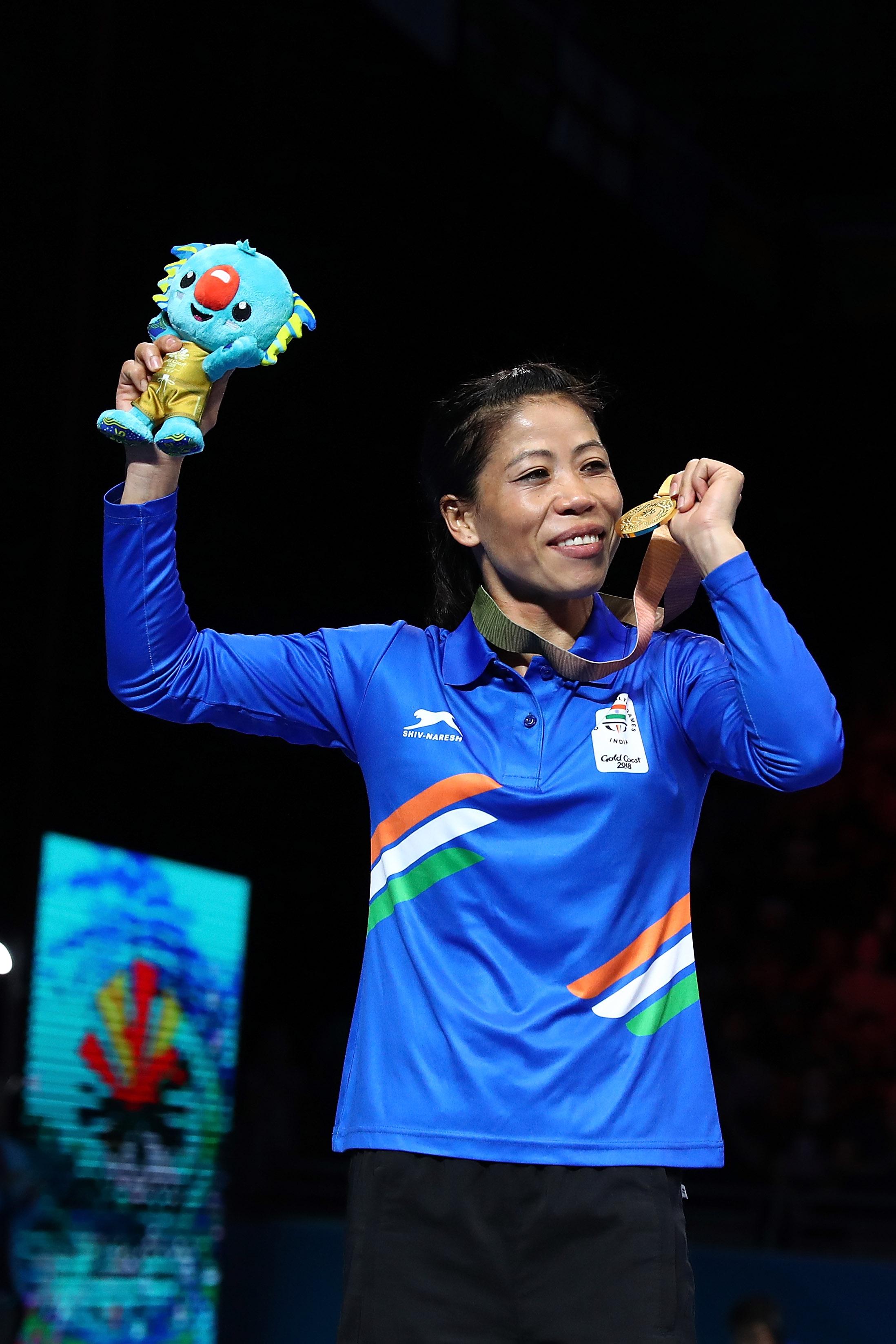 インドの英雄メアリー・コムは2018年、8年ぶりに世界選手権を制している