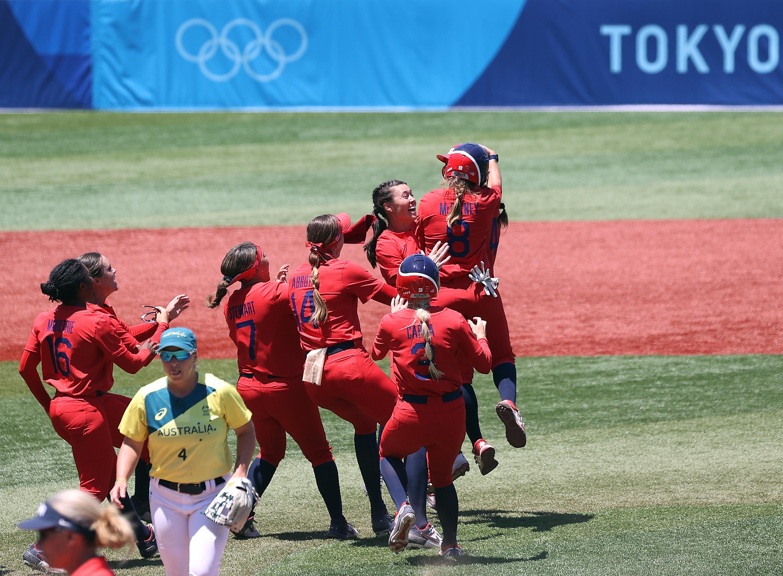 アメリカはオーストラリアに勝利し無傷の4勝を挙げ決勝進出を決めた(Getty Images)