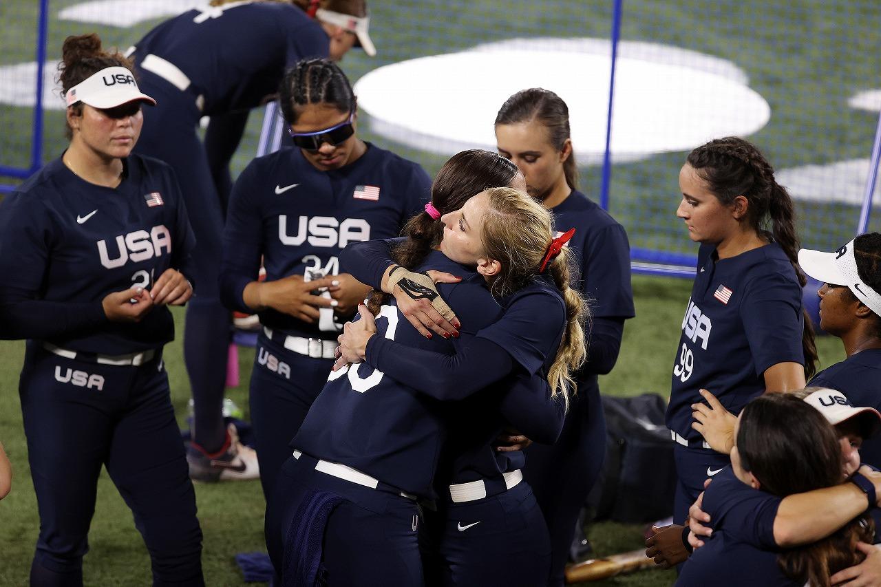 遅くも涙を飲んだアメリカだが、随所に素晴らしいプレーを見せた(Getty Images)